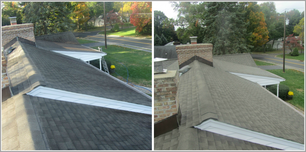 Roof Cleaning Saddle River NJ | Roof Washing Saddle River New Jersey